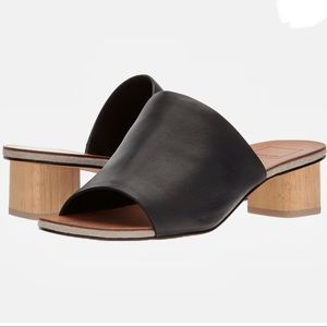 Dolce Vita Leather Kaira Block Heel Sandals